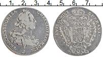Изображение Монеты Тоскана 1 франческоне 1748 Серебро XF Франциск II