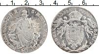 Изображение Монеты Венгрия 1/2 талера 1787 Серебро XF Святая Мария