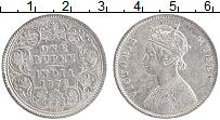 Изображение Монеты Британская Индия 1 рупия 1876 Серебро XF