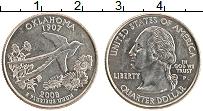 Изображение Монеты США 1/4 доллара 2008 Медно-никель UNC P. Дж.Вашингтон. Шта
