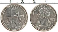 Изображение Монеты США 1/4 доллара 2004 Медно-никель UNC