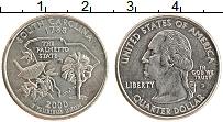 Изображение Монеты США 1/4 доллара 2000 Медно-никель UNC