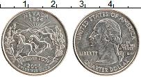 Изображение Монеты США 1/4 доллара 2006 Медно-никель UNC D. Дж.Вашингтон. Шта