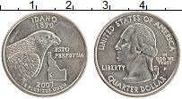 Изображение Монеты США 1/4 доллара 2007 Медно-никель UNC