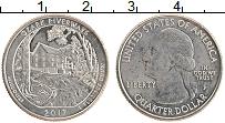 Изображение Монеты США 1/4 доллара 2017 Медно-никель UNC