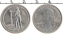 Изображение Монеты США 1/4 доллара 2013 Медно-никель UNC