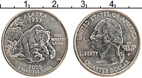 Изображение Монеты США 1/4 доллара 2008 Медно-никель UNC