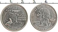 Изображение Монеты США 1/4 доллара 2002 Медно-никель UNC
