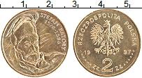 Изображение Монеты Польша 2 злотых 1997 Латунь UNC- Стефан Баторий