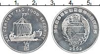 Изображение Монеты Северная Корея 1/2 чоны 2002 Алюминий UNC