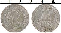 Изображение Монеты Бранденбург-Ансбах 20 крейцеров 1764 Серебро VF S. Карл Александр