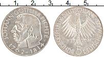 Изображение Монеты ФРГ 5 марок 1964 Серебро XF