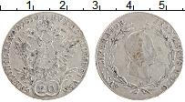 Изображение Монеты Австрия 20 крейцеров 1830 Серебро VF Франциск I