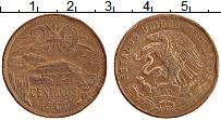 Изображение Монеты Мексика 20 сентаво 1965 Бронза VF