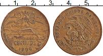 Изображение Монеты Мексика 20 сентаво 1966 Бронза VF