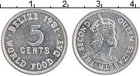Изображение Монеты Белиз 5 центов 1981 Алюминий XF