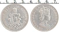 Изображение Монеты Бермудские острова 1 крона 1964 Серебро XF Елизавета II.