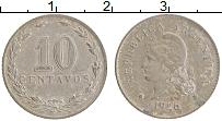 Изображение Монеты Аргентина 10 сентаво 1926 Медно-никель XF