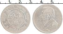Изображение Монеты ЮАР 2 шиллинга 1895 Серебро VF Пауль Крюгер