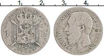 Изображение Монеты Бельгия 1 франк 1887 Серебро VF Леопольд II