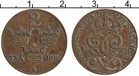 Изображение Монеты Швеция 2 эре 1929 Бронза XF Густав V