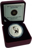 Изображение Подарочные монеты Канада 25 центов 2013 Медно-никель UNC