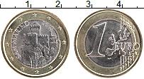 Изображение Монеты Сан-Марино 1 евро 2018 Биметалл UNC