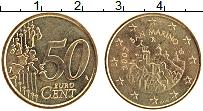 Изображение Монеты Сан-Марино 50 евроцентов 2007 Латунь UNC