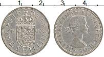 Изображение Монеты Великобритания 1 шиллинг 1960 Медно-никель XF