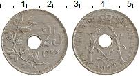 Изображение Монеты Бельгия 25 сантим 1922 Медно-никель XF