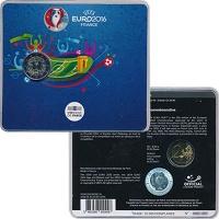Изображение Подарочные монеты Франция 2 евро 2016 Биметалл UNC