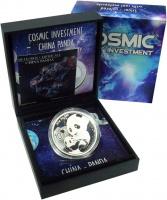 Изображение Подарочные монеты Китай 10 юаней 2019 Серебро Proof `Серия ``Космические