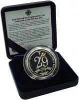 Изображение Подарочные монеты Сейшелы 50 рупий 2015 Серебро Proof