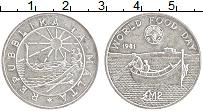 Изображение Монеты Мальта 2 фунта 1981 Серебро UNC