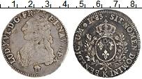 Изображение Монеты Франция 1 экю 1783 Серебро XF- Людовик XVI