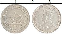 Продать Монеты Восточная Африка 25 центов 1913 Серебро