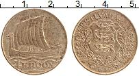 Изображение Монеты Эстония 1 крона 1934 Бронза XF