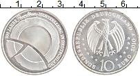 Изображение Монеты Германия 10 евро 2010 Серебро UNC- F. 300 лет изготовле