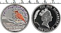 Изображение Монеты Фиджи 1 доллар 2010 Серебро Proof Соловей.Сказки Андер
