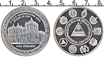 Изображение Монеты Никарагуа 10 кордоба 2005 Серебро Proof Серия Иберо-Америка.