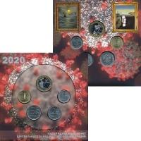 Изображение Подарочные монеты Россия Набор монет России 2020 2020  UNC Годовой набор монет