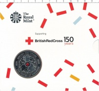 Изображение Подарочные монеты Великобритания 5 фунтов 2020 Медно-никель BUNC 150 лет Британскому