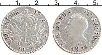 Изображение Монеты Гаити 50 сентим 1831 Серебро XF