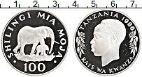 Продать Монеты Танзания 100 шиллингов 1986 Серебро
