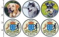 Изображение Наборы монет Испания 5 песо 2020 Медно-никель UNC UNUSUAL. В наборе 3
