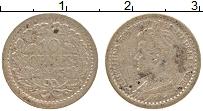 Изображение Монеты Нидерланды 10 центов 1915 Серебро XF- Вильгельмина
