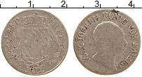 Изображение Монеты Бавария 6 крейцеров 1811 Серебро XF Махсимильян I Иосиф