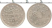 Изображение Монеты Турция 2 куруш 1910 Серебро XF Мехмед V