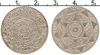 Изображение Монеты Марокко 2 1/2 дирхама 1898 Серебро XF