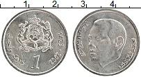 Изображение Монеты Марокко 1 дирхам 2002 Медно-никель UNC- Мухаммед VI